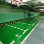 Epoxy Based Stone Hard Parking Lot Epoxy Resin Flooring 1