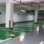 Good Quality Anti-slip Epoxy Flooring for Parking Lot 1