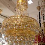 Led lighting fixture chandelier 3