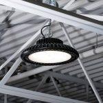 Lighting fixtures; UFO high bay led light. 4