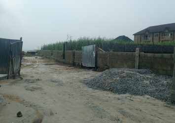 Fenced 2 plots of Land (Waterfront) 2