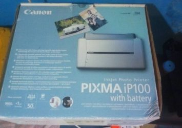 Canon PIXMA iP100 Portable Printer For Sale 4