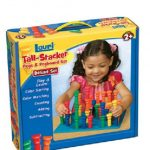 Tall-Stacker Pegs & Pegboard Set Deluxe Set 1