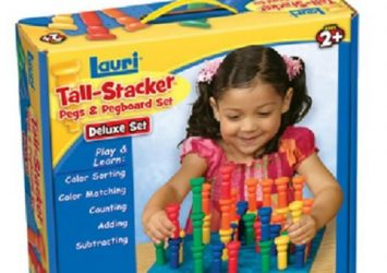 Tall-Stacker Pegs & Pegboard Set Deluxe Set 23