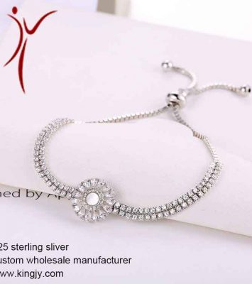 925 silver jewelry necklaces earring bracelet custom wholesale 11