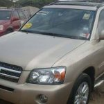 Clean Tokumbor Toyota Highlander 2005 Model 1