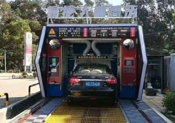 CF-330 Automated Rollover car wash machine 8