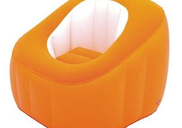 Bestway Comfi Cube- Single (Orange Color) 8