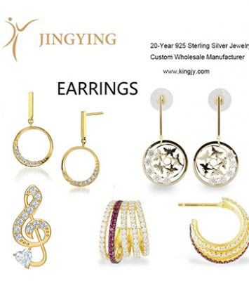 925 sterling silver earrings fine jewelry wholesale manufacturer 7