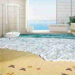 3D Beach View Epoxy Flooring 2