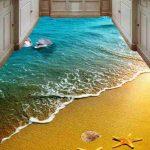 3D Epoxy Kitchen Floor 1