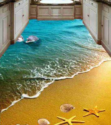 3D Epoxy Kitchen Floor 12