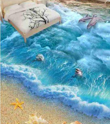 3D Epoxy Seaworld Floor Real View 10