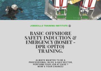 BASIC OFFSHORE SAFETY INDUCTION & EMERGENCY TRAINING (BOSIET) 17
