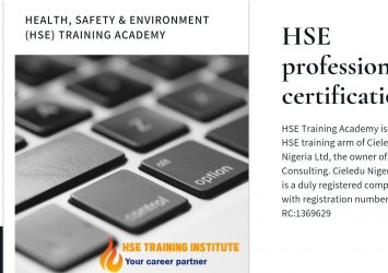 HSE Professional Certification 14