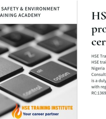 HSE Professional Certification 6