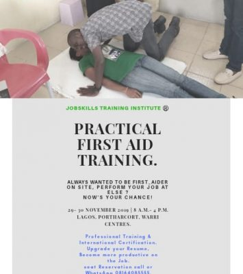 PRACTICAL FIRST - AID TRAINING (PFA) 20