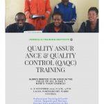 QUALITY ASSURANCE & QUALITY CONTROL (QAQC) TRAINING 4