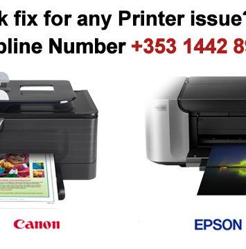 Epson Printer Repair Customer Service Ireland +353-1442-8988 Help Number 4