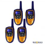 Retevis RT31 22CH 0.5W UHF 2-Way Radio Walkie Talkie For Kids - 4unit 4