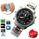 32gb Spy Video Camera Chain Wrist Watch - Silver 1