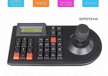 Neutral 3D 3Axis Joystick Intellectual PTZ CCTV Camera Controller 3