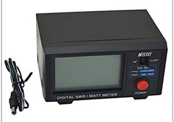 DG-503 Nissei Digital SWR/WATT Meter 1.6-60MHz/125-525MHz 20