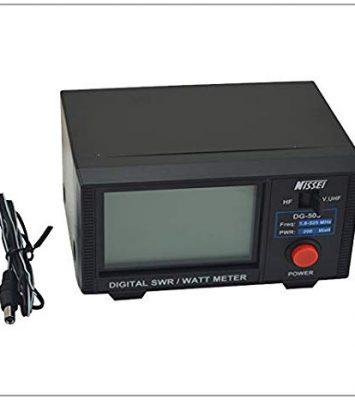 DG-503 Nissei Digital SWR/WATT Meter 1.6-60MHz/125-525MHz 21
