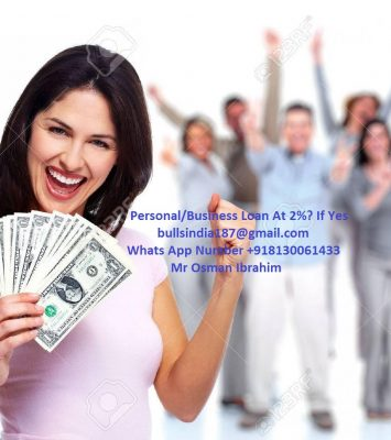 FAST AND EASY PERSONAL LOAN WITH 2% LOW INTEREST 1