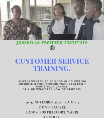 CUSTOMER SERVICE PROFESSIONAL TRAINING (CSPT) 17