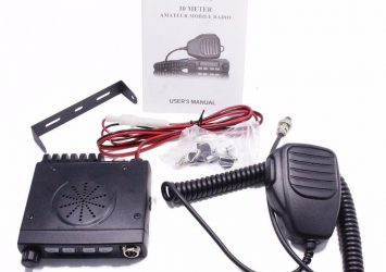 ABBREE AR-925 HF Transceiver Car Mobile Radios, Cb Radio Set 27MHZ 12
