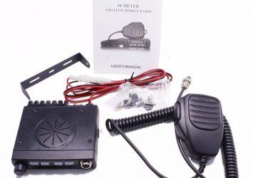 ABBREE AR-925 HF Transceiver Car Mobile Radios, Cb Radio Set 27MHZ 28