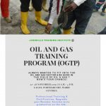 OIL AND GAS TRAINING PROGRAM (OGTP) 3
