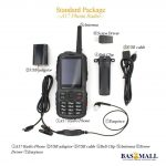 50km Zello Android Walkie Talkie PTT Radio A17 3G/WCDMA SIM CARD 3