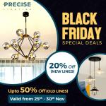 Precise Lighting: Black Friday Exclusive Sale | Save Upto 50% 5
