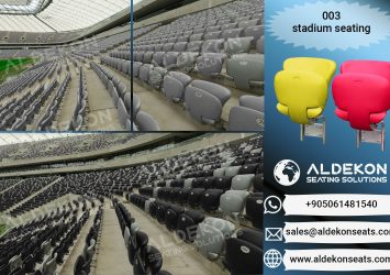 ALDEKON Auditorium Cinema Theater Stadium Seating Manufacturer 4