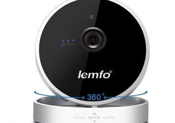 LEMFO Mini Wireless Wifi IP Home Security Camera 720P HD Smart P2P 18