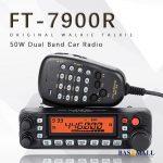 General Yaesu FT-7900R Car Mobile Radio Dual Band 10KM Two Way Radio 2