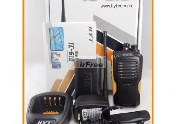 HYT TC-610 5W Portable Two Way Radio With Li-Ion Battery HYTERA 10