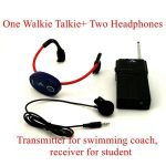Swimming Training Walkie Talkie (For Coaches )And Underwater Bone Conduction Headset (For Students) 5