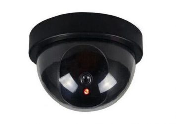 Dummy Imitation Surveillance CCTV Security Dome Camera With LED 22