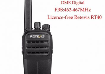 PMR446/FRS DMR Tier I Licence-Free 0.5W/2W Two Way Radio Retevis RT40 18