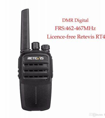 PMR446/FRS DMR Tier I Licence-Free 0.5W/2W Two Way Radio Retevis RT40 24