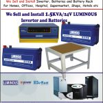 We Sell Deliver and Install 1.5KVA/24v Inverters and Batteries Tel: + (234)810-403-6736, + (234)802-860-1846 2