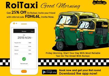 Taxi Booking In Kaduna. 25