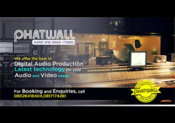 Phat Wall Recording Studio 8
