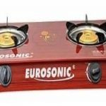 Eurosonic Gas Cooker Glass Top - Red 4