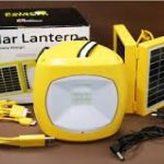 Solar Lantern With Panel And Mobile Charger 3
