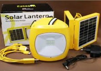 Solar Lantern With Panel And Mobile Charger 13