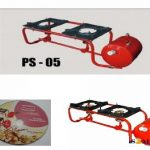 PS-05 Double Burner Wheel Pressure Stove 4